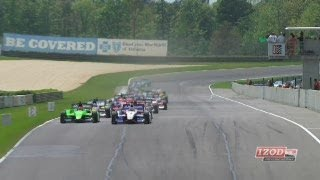 2012 Honda Indy Grand Prix Of Alabama Highlights