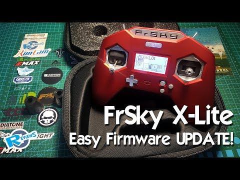 FrSky - X-Lite - how to update firmware - 3 ways