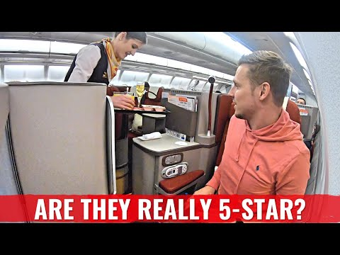REVIEW – Hainan Airlines Business Class – Beijing to Prague on Airbus A330-300