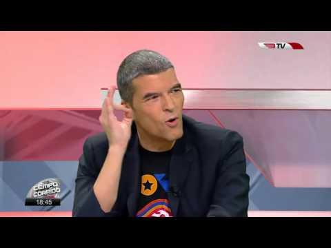 """Humberto Barbosa no programa """"Tempo Corrido"""" da BTV"""
