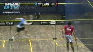 Squash Mega Rally - Matthews Vs Ashour