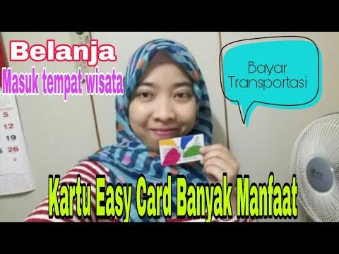 SATU  KARTU EASY CARD BANYAK MANFAAT