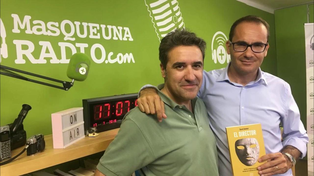 """DAVID JIMENEZ, EX DIRECTOR DE """"EL MUNDO"""" CON SU LIBRO #ElDirector"""