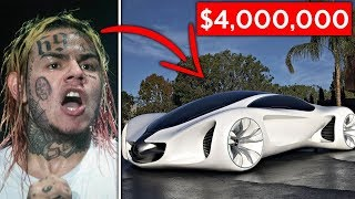10 Expensive Items The Fed's Confiscated From 6ix9ine...