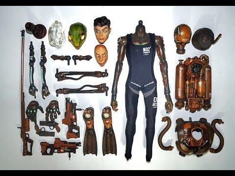 BLACK 13 PARK :暗夜水下突擊組-灰色貝雷帽水鬼兵團 (BLACK LABORARY的海軍部隊) 開箱