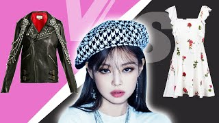 BLACKPINK PRETTY vs UGLY  outfits (stage and mv)