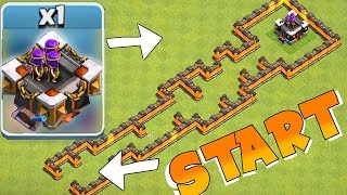 LVL 15 ARCHER TOWER MAZE!!! | CLASH OF CLANS | TH9 TROLL BASE!!