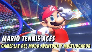 Mario Tennis Aces - 20 minutos de gameplay