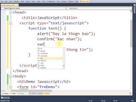 VD01 - Start JS
