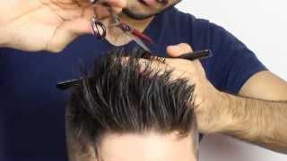 Мужская стрижка UNDERCUT. Обучение для парикмахеров от Узун Виталия, Одесса.
