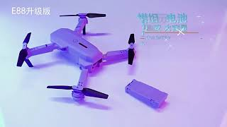 Drone E88 pro 4K ultra HD camera dual camera wifi FPV altitude hold dji mavic air clone