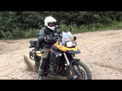 First Time Offroad for Bruno - BMW F800GS and Suzuki DR650
