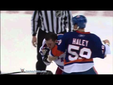 Micheal Haley vs. Sean Avery
