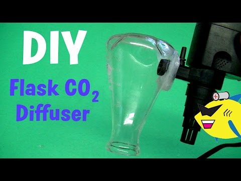 DIY Flask CO2 Diffuser: Aquarium CO2