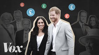 This is what Harry and Meghan are giving up.   Become a Video Lab member! http://bit.ly/video-lab   The British royal family is very rich, but not as rich as you might think. And that's because of a centuries-old model for how they make their income — and taboos about earning a private income outside of their official duties.   Prince Harry and Meghan Markle are breaking free from the rules of how royals make money, which just might be a savvy financial decision.   Note: The properties illustrated on our map are only the properties we were able to geo-locate precisely from the following sources.   https://www.thecrownestate.co.uk/en-gb/our-places/asset-map/ https://www.duchyoflancaster.co.uk/properties-and-estates/holdings/ https://duchyofcornwall.org/   Vox.com is a news website that helps you cut through the noise and understand what's really driving the events in the headlines. Check out http://www.vox.com. Watch our full video catalog: http://goo.gl/IZONyE Follow Vox on Facebook: http://goo.gl/U2g06o Or Twitter: http://goo.gl/XFrZ5H