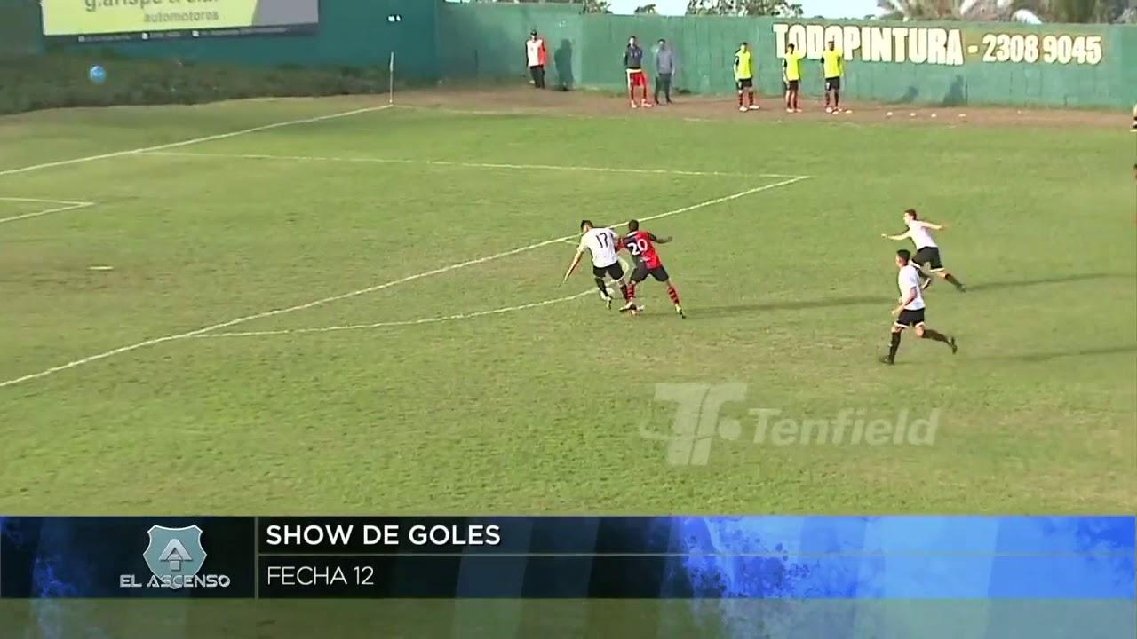 2a División | Show de goles de la 12a fecha
