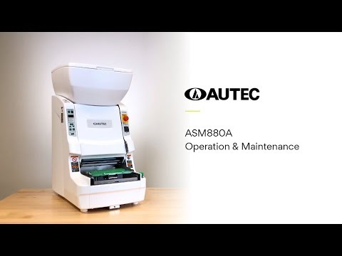 ASM880CE Instructional Video