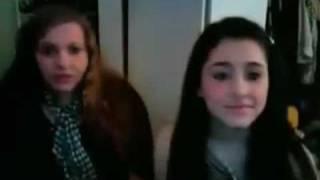 Ariana Grande, Misha Lambert and Aaron Simon Gross 'Merry Christmas'