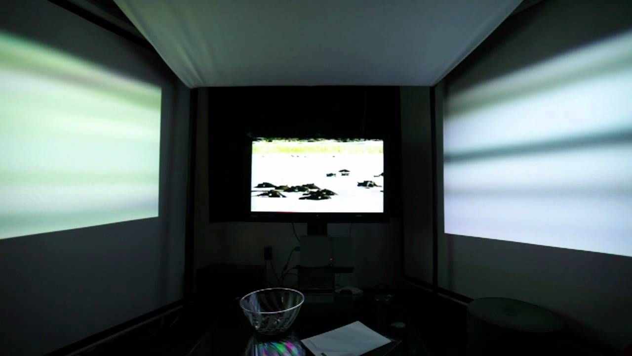 MIT Makes TV More Immersive With Blurry Side Screens For Your Peripheral Vision
