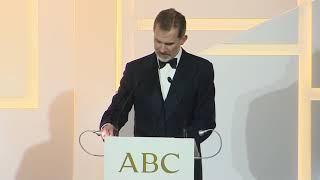 Discurso de S.M. el Rey en los Premios Internacionales de Periodismo ABC