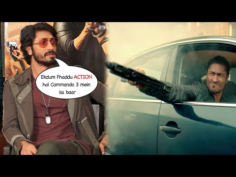 Vidyut Jammwal REVEALS Interesting FACTS About The ACTION SCENES In Commando 3