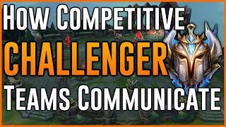 How a Challenger Team Communicates (Full Competitive Series) - League of Legends
