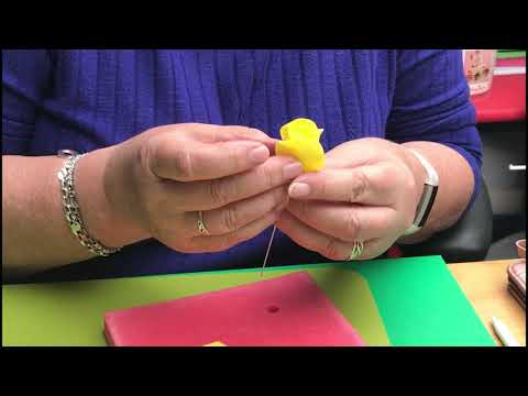 How to make a Rose Using FMM Sugarcraft 5 Petal Rose Cutters