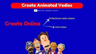 how to make create video online animation movie maker