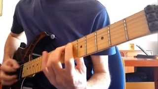 Imperiled Eyes riff by Jeff Waters (Annihilator) on Ibanez RG Prestige 1550