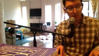 (543) Zachary Scot Johnson The Dawntreader Joni Mitchell Cover thesongadayproject Zackary Scott Live