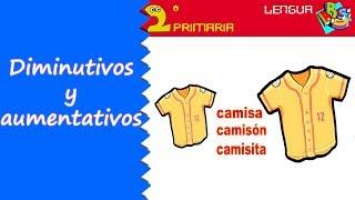 Lengua Castellana. 2º Primaria. Tema 4. Diminutivos y aumentativos
