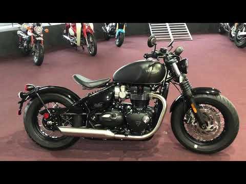 2022 Triumph Bonneville Bobber in Belle Plaine, Minnesota - Video 1
