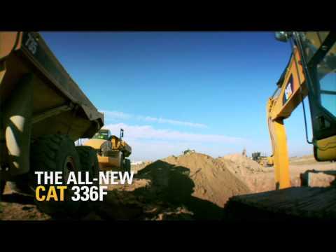 סרטון של  באגר 336F מבית caterpillar - I.T.E טרקטורים וציוד