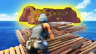 BUILDING TO THE START ISLAND! (Fortnite Battle Royale)