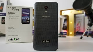Alcatel Verso Unboxing and Hands-On Free on Cricket wireless when you Port Over