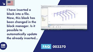 FAQ 003370 | I have inserted a block into a file. Now, this block has been changed in the block manager. Is it possible to automatically update the already inserted block?