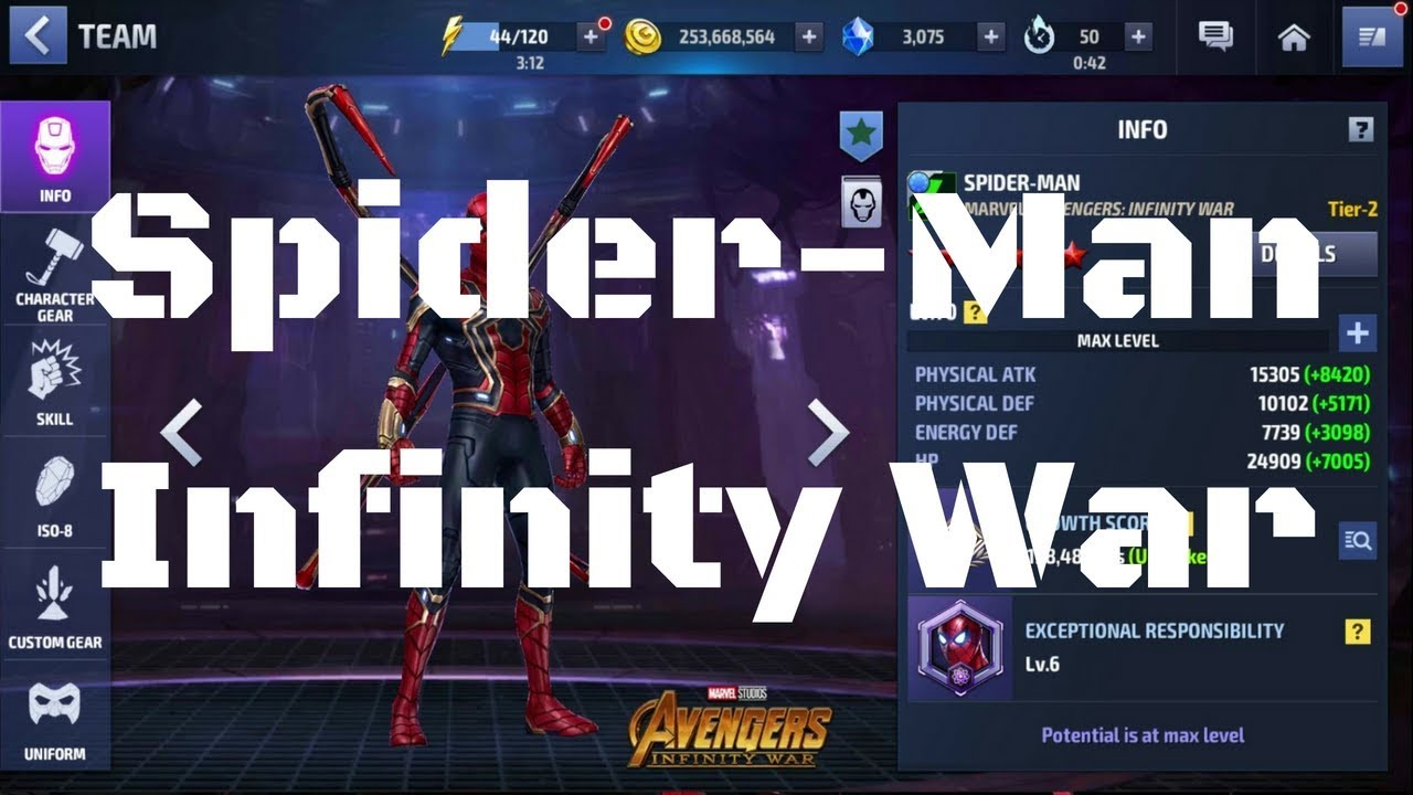 รีวิว Spider-man ยู Infinity War