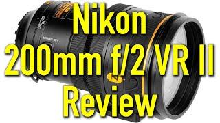 Nikon 200mm f/2 VR II Review by Ken Rockwell
