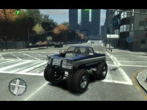 GTA IV: как получить грузовик-монстр - (GTA IV monster truck)