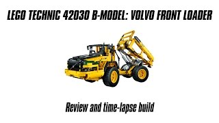 Lego Technic 42030 B-model Build & Review: Volvo Articulated Hauler