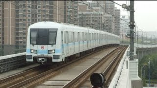 preview picture of video '[Shanghai Metro033]Line9 AC09 Train 上海地下鉄9号線AC09@Songjiang University Town 松江大学城'