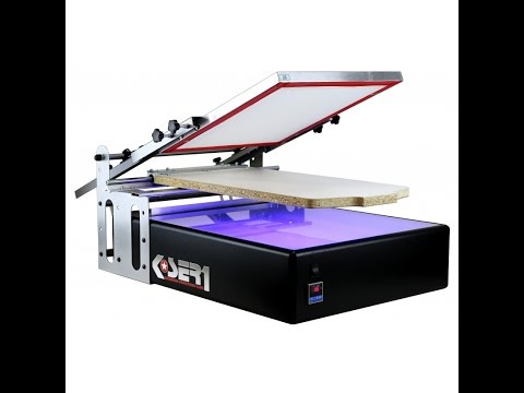 Screen Printing Machine with Exposure UV | T-shirt | Printer | Kit