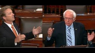 Rand Paul & Bernie Sanders Argue Over Trump's Helsinki Summit