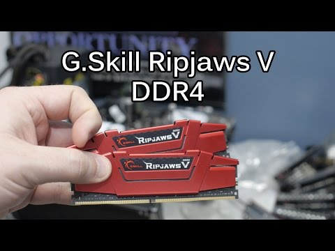DDR4 XMP Overview with GSKILL RipJaws V for Z170