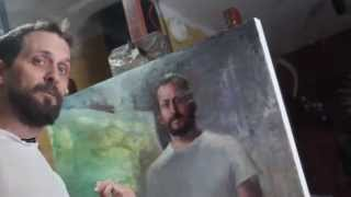 How To Paint A Self Portrait by Matt Abraxas