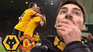 WE BEAT MAN UTD AGAIN! Wolves Vs Manchester United 2-1 Match Day Vlog
