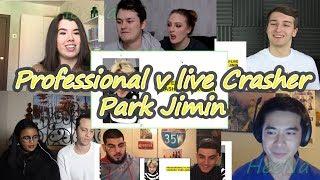[BTS] Professional V Live Crasher Park Jimin!|reaction Mashup