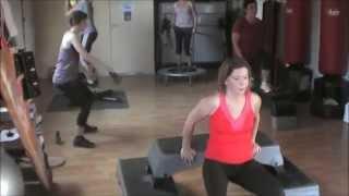preview picture of video 'Association Yoksuthaï. Section Fitness. Pouillon. Les Landes. Exemple de circuit training.'