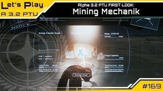 Star Citizen 3.2 PTU - Mining Gameplay - FIRST LOOK   LetsPlay [Deutsch/German]