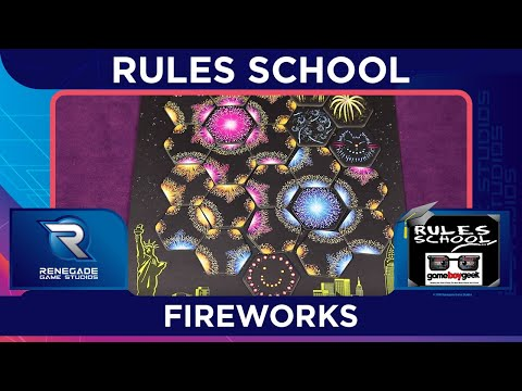 Learn How To Setup & Play Fireworks (Rules School) with the Game Boy Geek